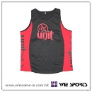 男装涤伦透气印花篮球背心 Men Polyester Moisture Wicking Basketball Singlet (香港)