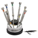 Screw Driver Set of 9 on Stand (India)