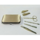 High Quality Professional Manicure Set with Satin Pouch (Hong Kong)