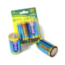 1.5v LR20 d Size am1 Alkaline Battery (Mainland China)