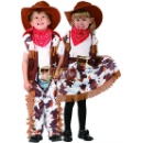 Cow Girl and Cow Boy Costume (Taiwan)