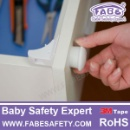Fabe D522 Safety Magnetic Lock Child Safety Cabinet Locks Set, 4 Lock 1 Key,No Screws or Drilling Ne (Taiwan)