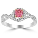 Pink Diamond Engagement Ring (USA)
