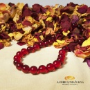 Ruby Red Amber Necklace (Lithuania)