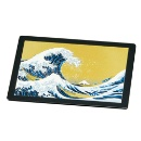 Mouse Pad - Waves & Fuji (Hong Kong)