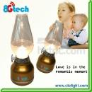 LED lantern led Kerosene lamp with remove battery (China)