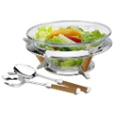 Stainless Steel Salad Bowl Set (Hong Kong)