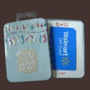 Tin Gift Card Holder Box (Hong Kong)