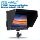 "7"" IPS Ultra-Thin Design HDMI On Camera Field Monitor with Peaking Focus (Hong Kong)"