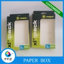 Custom Gift Packaging Paper Box Craft Paper Box With Pvs Window And Hanger (Mainland China)