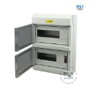 IP67 Watertight PC Plastic MCB Electric Distribution Box (China)