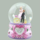 2016 New Wedding Favor Glass Snow Globe (China)