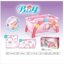 Baby Bed with Doll Playset (Hong Kong)
