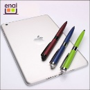 2 in 1 Multi-Function Metal Stylus Touch Screen Ball Pen with Twist Action (China)