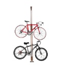 Woody Bike Stand Bicycle Rack Storage or Display Holds Two Bicycles (Mainland China)