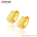90179 Latest Fashion Gold No Stone Jewelry Earring Hoops (China)