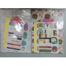 Envelope Paper Pad With Stickers And Stencil (Hong Kong)