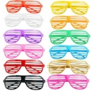 Novelty Plastic Shutter Shade Glasses (Mainland China)