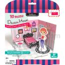 Papel Rompecabezas 3D Educativo  juegos Dream House Dormitorio (Hong Kong)