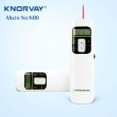 N80 Time Remind Vibration LCD Screen Knorvay Rechargeable Wireless Presenter, 2.4GHz Powerpoint Pres (Mainland China)