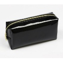 Quality PULeather Zipper Pillow Shaped Brand Cosmetic Bag Make Up Toiletry Bag Cosmetic Pouch (Hong Kong)