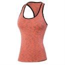 Yoga Stretch Wicking Sports and Fitness Jogging Vest (China)