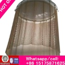 86-1575871625 chin link decorative wire mesh.Decorative Metal Room Dividers, Coil Drapery Curtains (China)