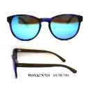 Acetate Material Black Outside Green Inside Frames Men and Women Wear Sunglasses (China)