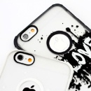 For iPhone 6S Plus Case TPU+PC Glowing in the Dark (China)