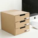 Corrugated Paper Drawer Storage Box (Hong Kong)