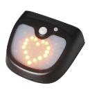 IP65 Flickering Flame Solar Wall Lights (Hong Kong)