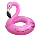 Giant Inflatable Flamingo Swimming Ring (Hong Kong)