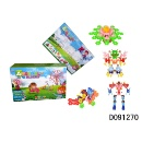 DIY Toy Plastic Snowflake Building Blocks Educational Puzzle for kids (Hong Kong)