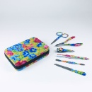 Colourful Printing High Quality Manicure Tool Kit (Hong Kong)