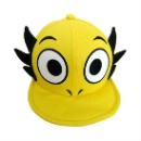 Girls Personalized Baseball Caps with Embroidery Animal Head Sewing Ear (Mainland China)