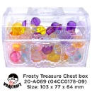 Food Grade Plastic Pirate treasure chest for Candy Storage  (Hong Kong)