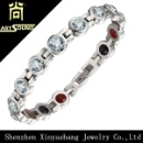 Stainless Steel Crystal Women Bracelet (China)