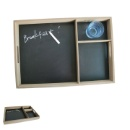 Wooden Tray with Memo Board (Mainland China)