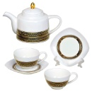 Fine Bone China Tea Set (Hong Kong)