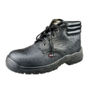 Steel Toe Safety Leather Upper Work Boots  (Hong Kong)