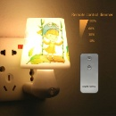 LED Night Light Bedroom Bedside Table Lamp (China)