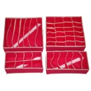 Set of 4 Non-woven Organizer (Hong Kong)