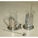 Glass Tea Set with Infuser (Hong Kong)