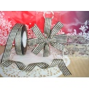 Gift Wrapping Sparkle Gold Double Side Grosgrain Ribbon  (Hong Kong)