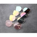 Cat Eye Design Metal Sunglasses (Hong Kong)