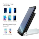 Foldable Qi Fast Wireless Charger Charging Pad  (Mainland China)