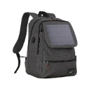 Solar Backpack with Solar Panels and Power Bank for Outdoor (Hong Kong)