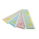 Personal Model Colour IPX5 Slim Business Office Washable Keyboard (Hong Kong)