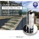 Guardrail Glass Spigots Series (China)