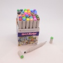 36 Pcs Sketch Markers In Paper Holder (China)
